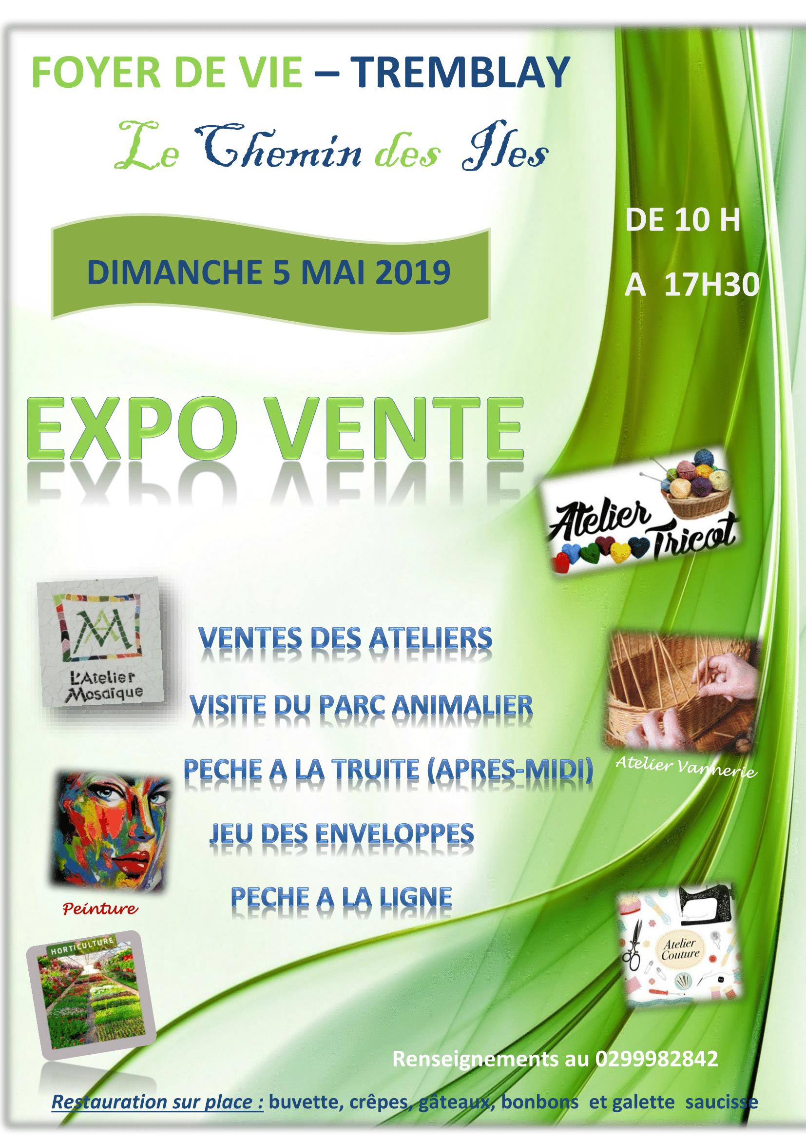 EXPO VENTE MAEN ROCH 2019